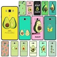 yndfcnb avocado aesthetic cute fashion pattern phone case for samsung j4 6 7 2 5 8plus prime core 2017 2018 pro