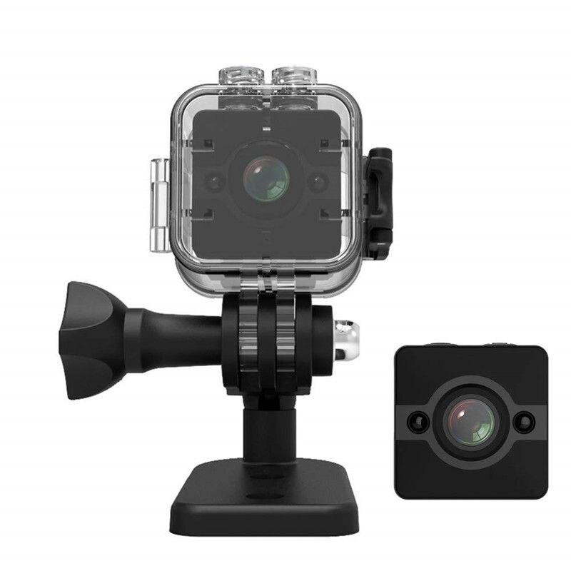 SQ12 Mini HD 1080P étanche grand Angle objectif caméscope sport DV nuit 155 Angle de Vision petite caméra de Surveillance pour la maison