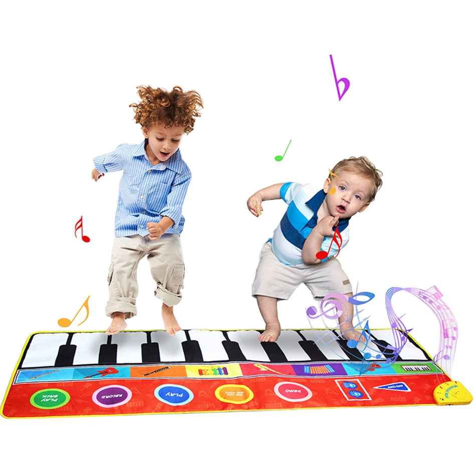 soft baby play mat baby activity gym educational toys kids carpet children playmat newborn babygym mat with frame Baby Musical Toys Children Large Educational Piano Play Mat Kids Surface Activity Developing Floor Carpet Newborn Crawling Rugs