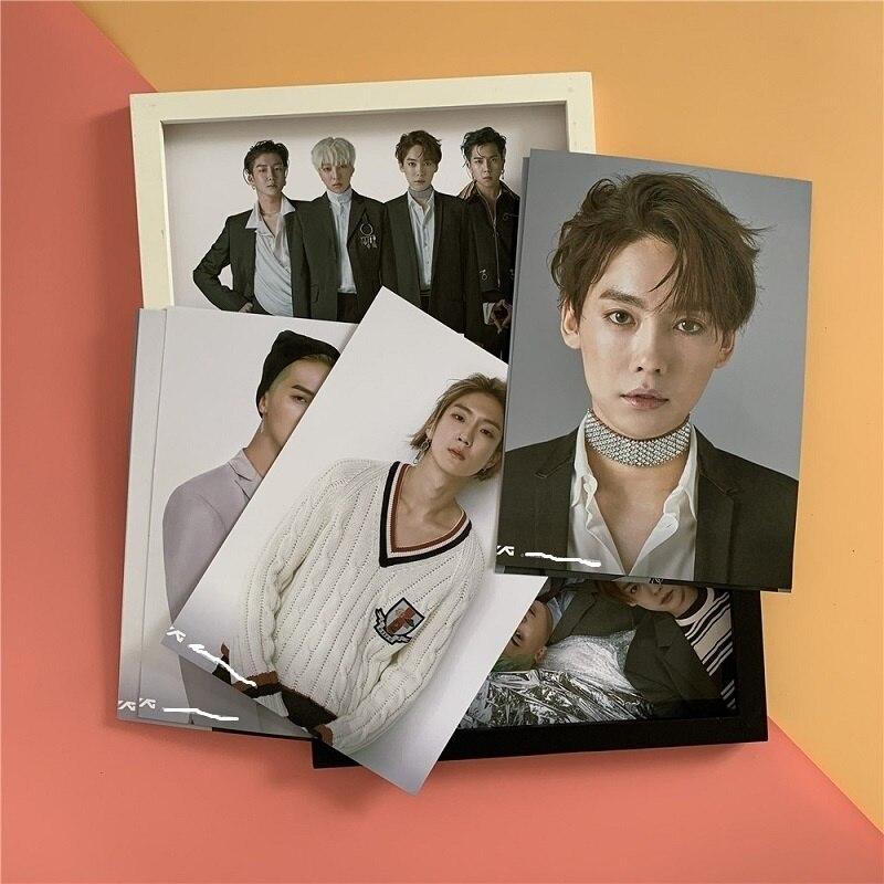 Новый альбом победителя KPOP, запоминающие окружающие постеры, Фотографическая декорация Kang сын Yoon MINO