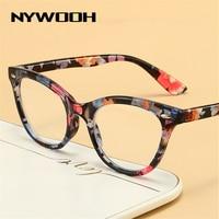 NYWOOH очки для чтения «кошачий глаз» женские компьютерные пресбиопические очки с защитой от сисветильник диоптрии + 1,0 1,5 2,0 2,5 3,0 3,5