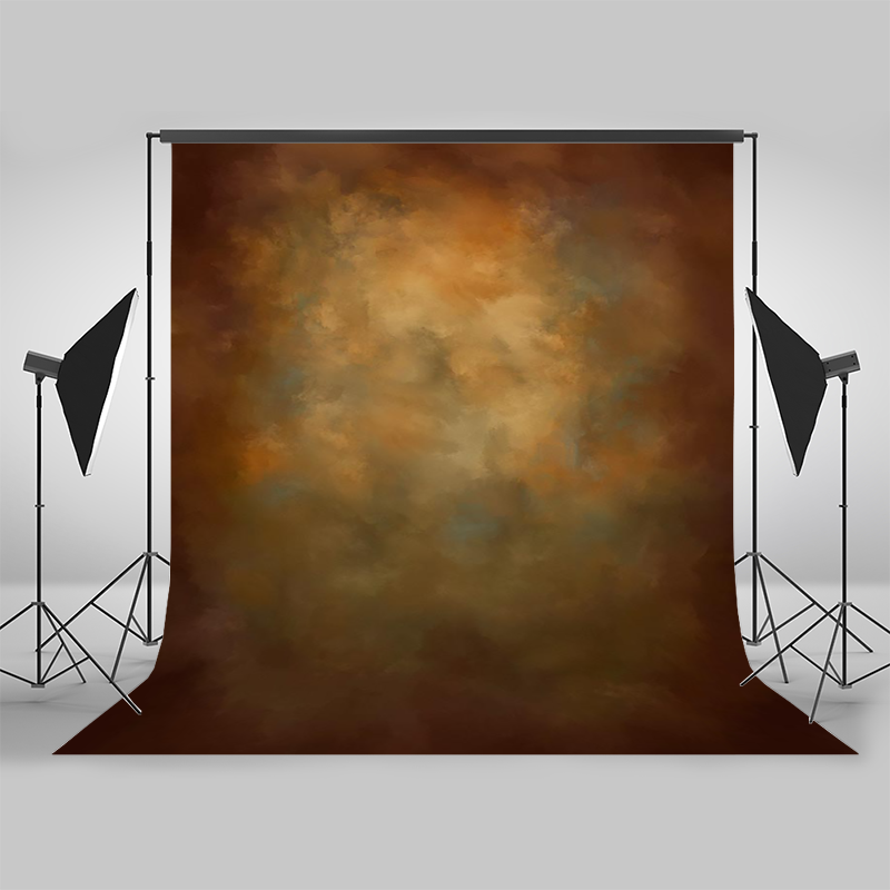 Mocsicka Brown Retro Abstract Texture Photography Backdrops for Children Adult Birthday Photocall Background Photo Studio Props enlarge