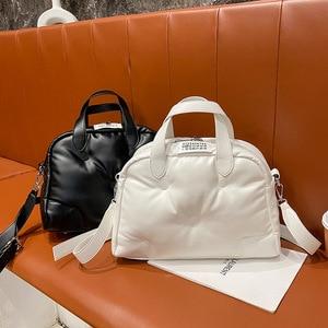 Fashionable portable cotton clothing bag 2020 new leisure shoulder bag versatile women's bag