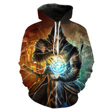 2020 New Fashion Mortal Kombat 11 Hoodies Men Women Children 3D Print Cool Game Sweatshirt Clothes Casual Hoody Sudaderas Hoodie