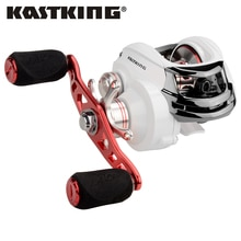 KastKing وايتماكس 8 كجم/17.6LB نظام الفرامل المزدوجة الصيد بكرة 12 الكرات 5.3:1 الكمال منخفضة نسبة والعتاد بكرة الطعم