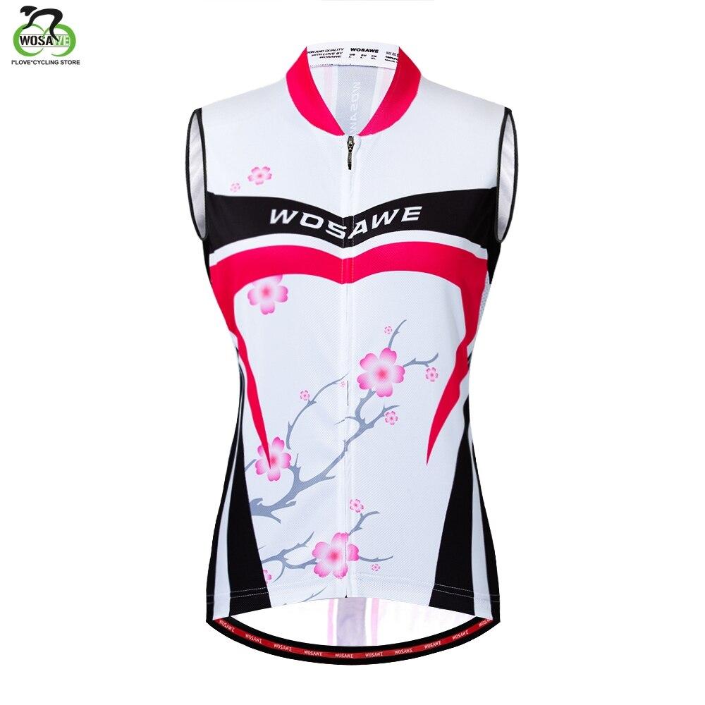 WOSAWE sin mangas reflectante Ciclismo jerséis chaleco verano transpirable MTB bicicleta Ropa chaleco camiseta Ropa Maillot Ciclismo