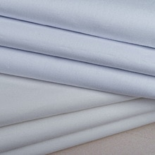 Pure Cotton full process combed 40 digital printing base cloth cotton shirt 110*70 plain fabric