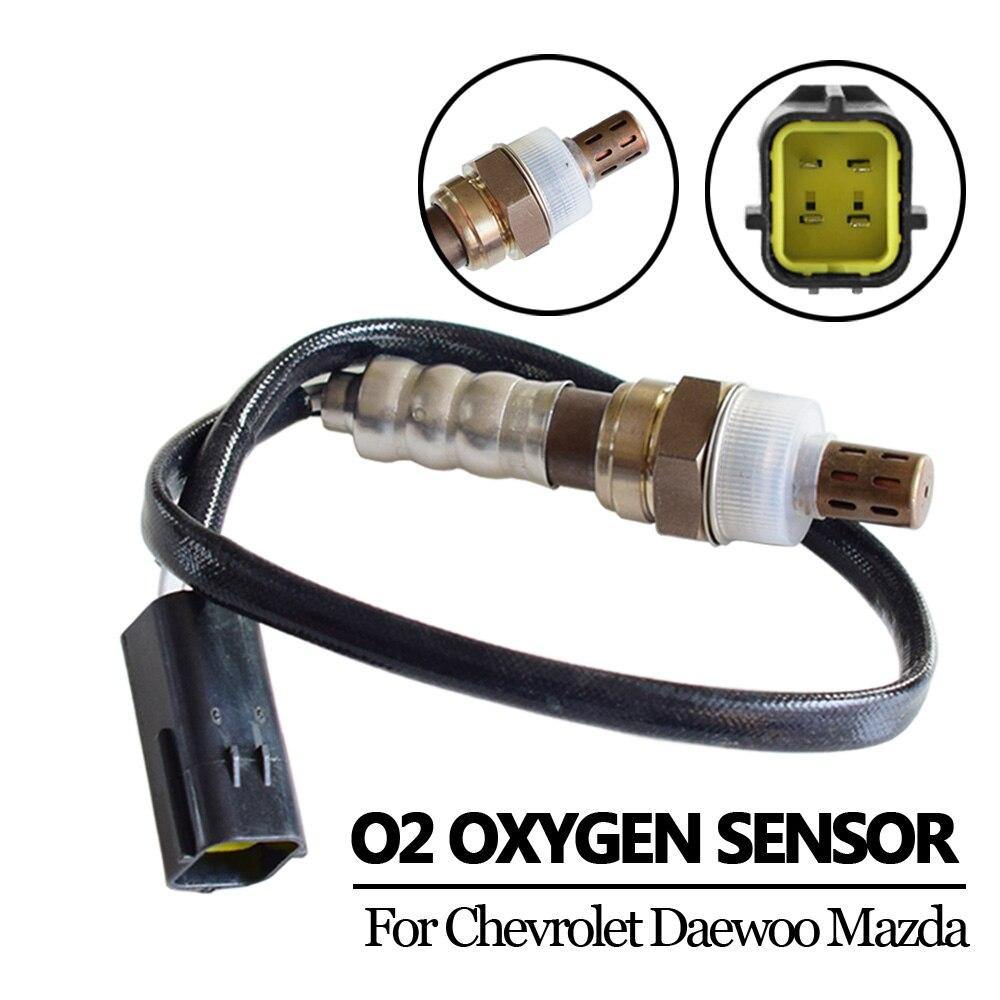 Sensor de oxígeno de 4 cables, 96418965, 96325533, 96291099, ES20037, para Chevrolet Daewoo, Aveo, Kalos, Lacetti, Nubira, para Mazda 626 y MX-6