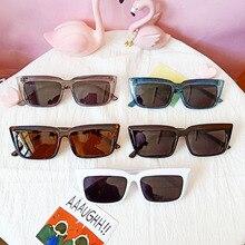 New Fashion Oversized Sunglasses Women Men Square Sunglasses Men Vintage Shield Eyes Glasses Female