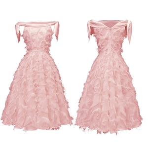 New Formal Evening Off Shoulder Dresses New Neck Short Sleeve Lace Appliques Tulle Long Party Gowns tassels Robe Sexy