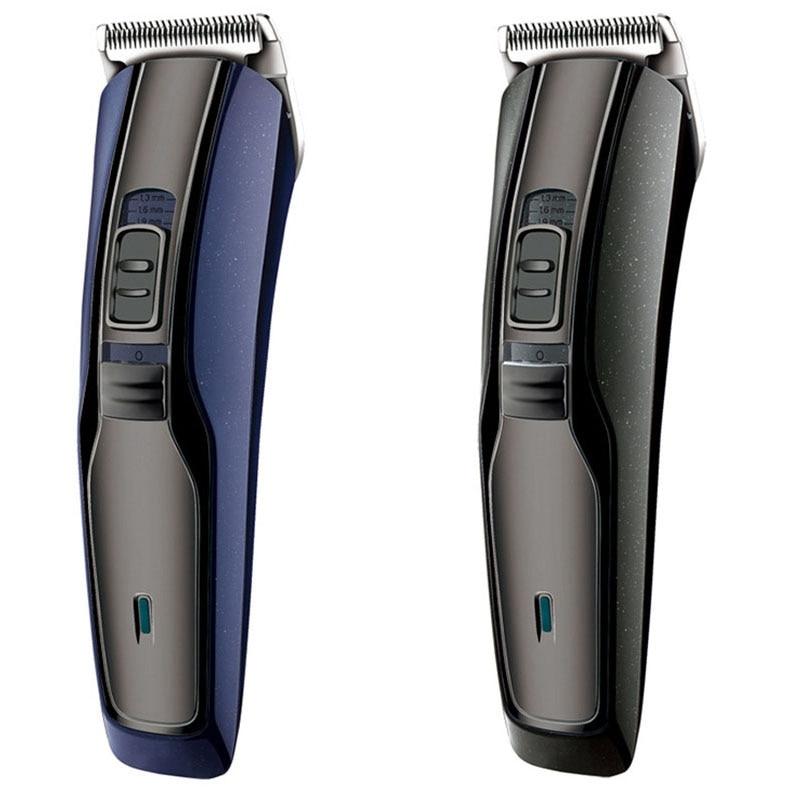 HTC المهنية مقص الشعر مقص الشعر الكهربائية اللحية تريمر الرجال الكهربائية المتقلب آلة قطع الشعر حلاقة الاتحاد الأوروبي التوصيل