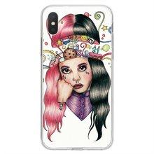 For Samsung Galaxy Note 2 3 4 5 8 9 S2 S3 S4 S5 Mini S6 S7 Edge S8 S9 Plus Cute Melanie Martinez Cry Baby Soft Silicone TPU Case