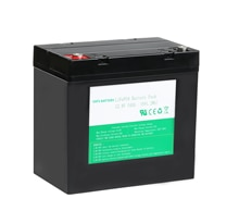 Offre spéciale remplacement au plomb acide 12.8v 50Ah 54Ah batterie