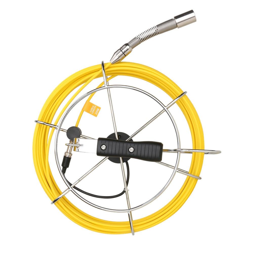 Auto Self Leveling 512hz locator sonde camera  pipe inspection camera drain sewer Meter Counter camera 10 inch monitor