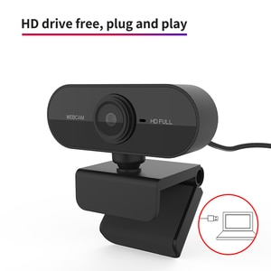 High Definition Lens 720P Full HD Teaching Online Webcast Computer Camera Auto Focus 360 Degree Rotation Multifuntional Base