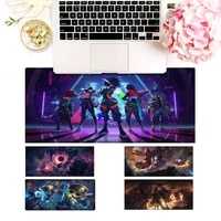 new products league of legends mouse pad pc laptop gamer mousepad anime antislip mat keyboard desk mat for overwatchcs go