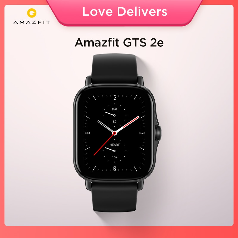 Review 2021 New Global Amazfit GTS 2e Smartwatch 24H Heart Rate 90 Sports Modes 5 ATM 24 Days Battery Life Smart Watch for Android
