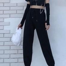 Real Photo Of Autumn Clothing Sports Pants Loose Student Ulzzang