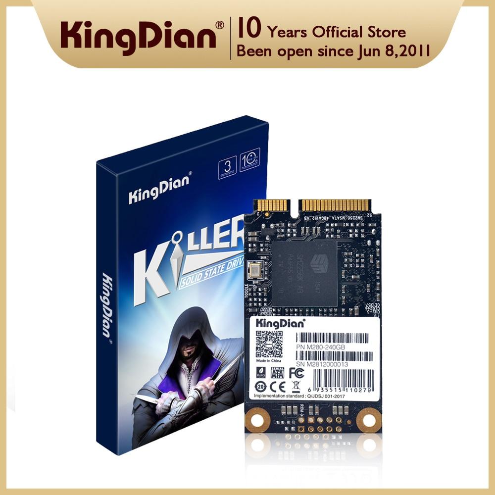 KingDian mSATA SSD 128gb 256gb 512GB 1 تيرا بايت 2 تيرا بايت 3x5 سنتيمتر البسيطة نصف حجم صغير الداخلية الحالة الصلبة القرص الصلب لأجهزة الكمبيوتر المحمول والكم...