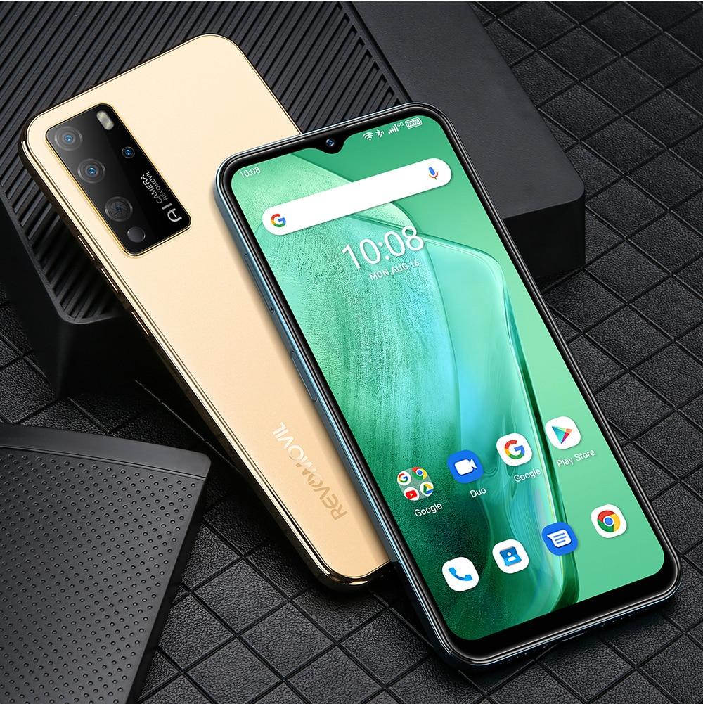 Revomovil S21Global version mobile phones 4GB+128GB 6.52 inch smartphones Dual SIM telephone 4150mAh cellphones 16+8MP Phones