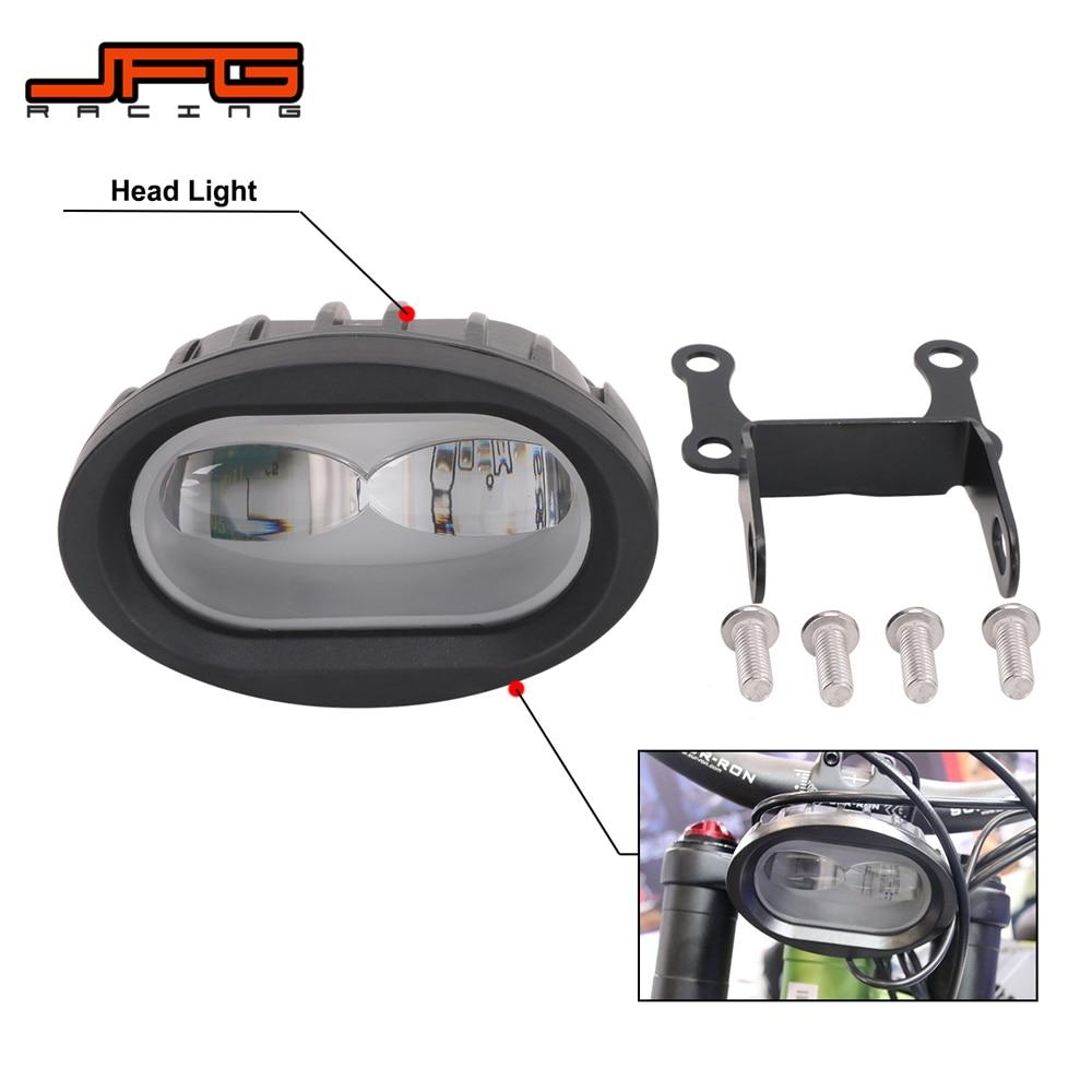 دراجة نارية LED المصباح الأمامي لسور رون سور رون Surron الكهربائية عبر البلاد الدراجة