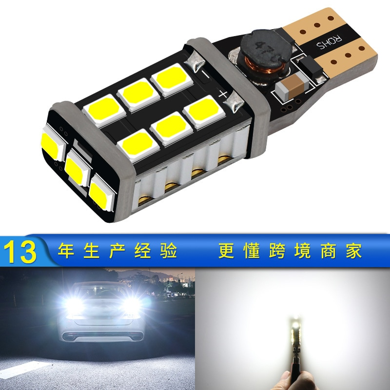 Headstream Manufacturer T15 Automobile Reversing Lamp 2835 Wide Pressure Bright Turning Tail Lamp 15 Lamp LED Reversing Lamp health central reversing costochondritis