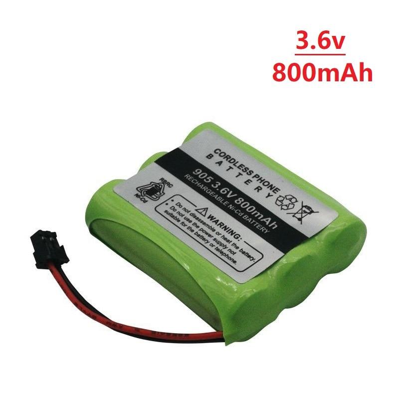 3.6v 800mAh For Uniden BT-905 BT905 BT-800 BT800 BT15 T101 Cordless Phone Battery 800mAh 2.88Wh 3.6v Ni-CD Rechargeable Battery