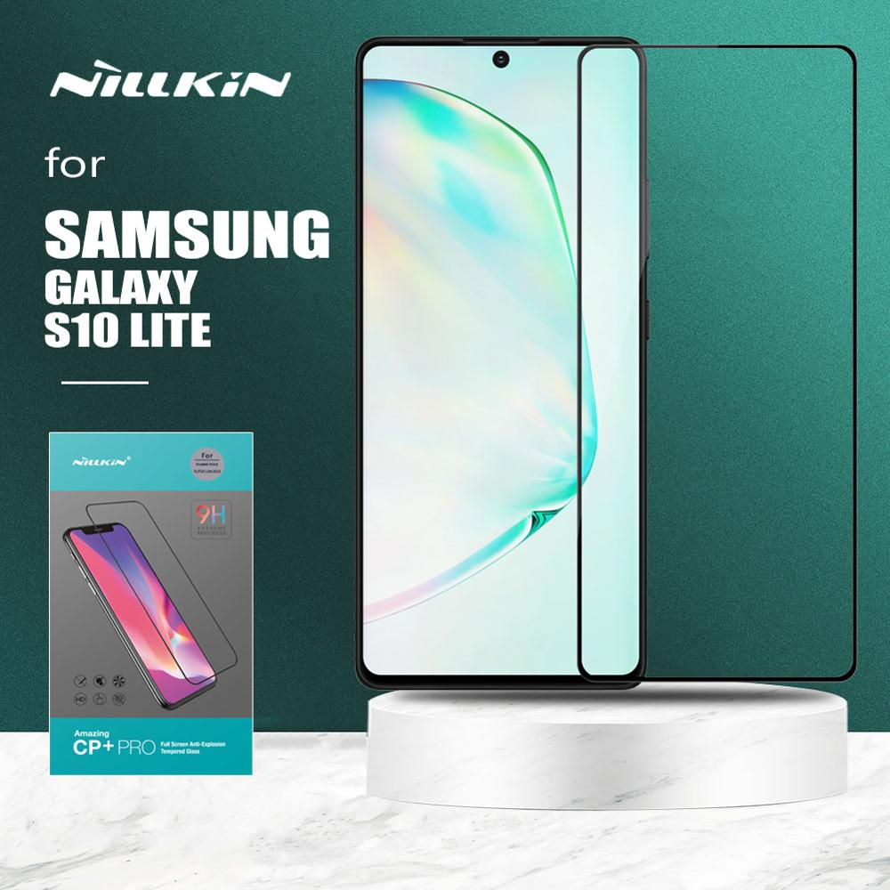 Для Samsung Galaxy S10 Lite стекло Nillkin CP + PRO закаленное стекло HD полное покрытие Защитная пленка для Samsung S10 Lite