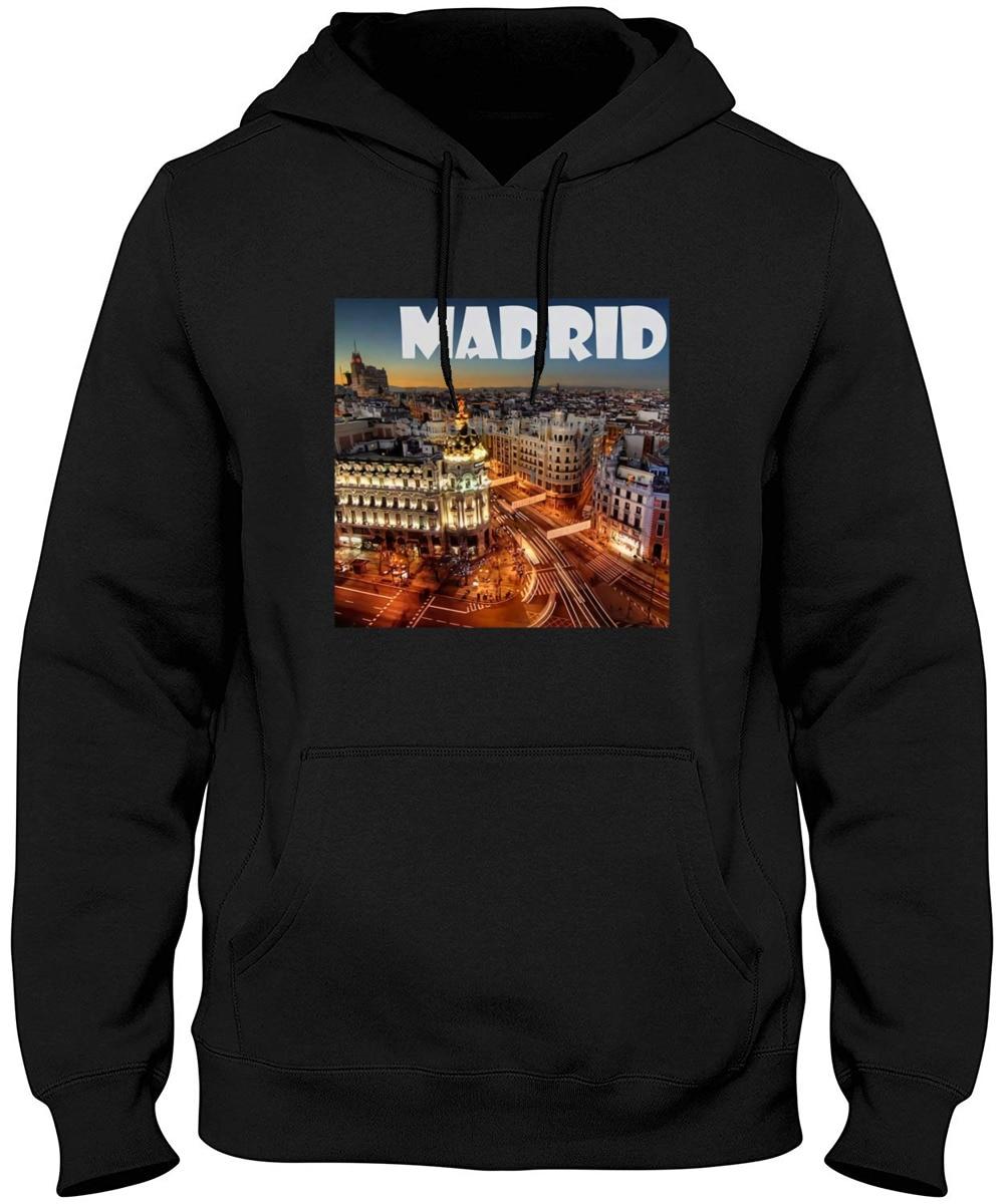 Madrid espanha cidade de sonho tumblr masculino feminino unissex 1515 japonês harajuku t shrit hoodies & camisolas