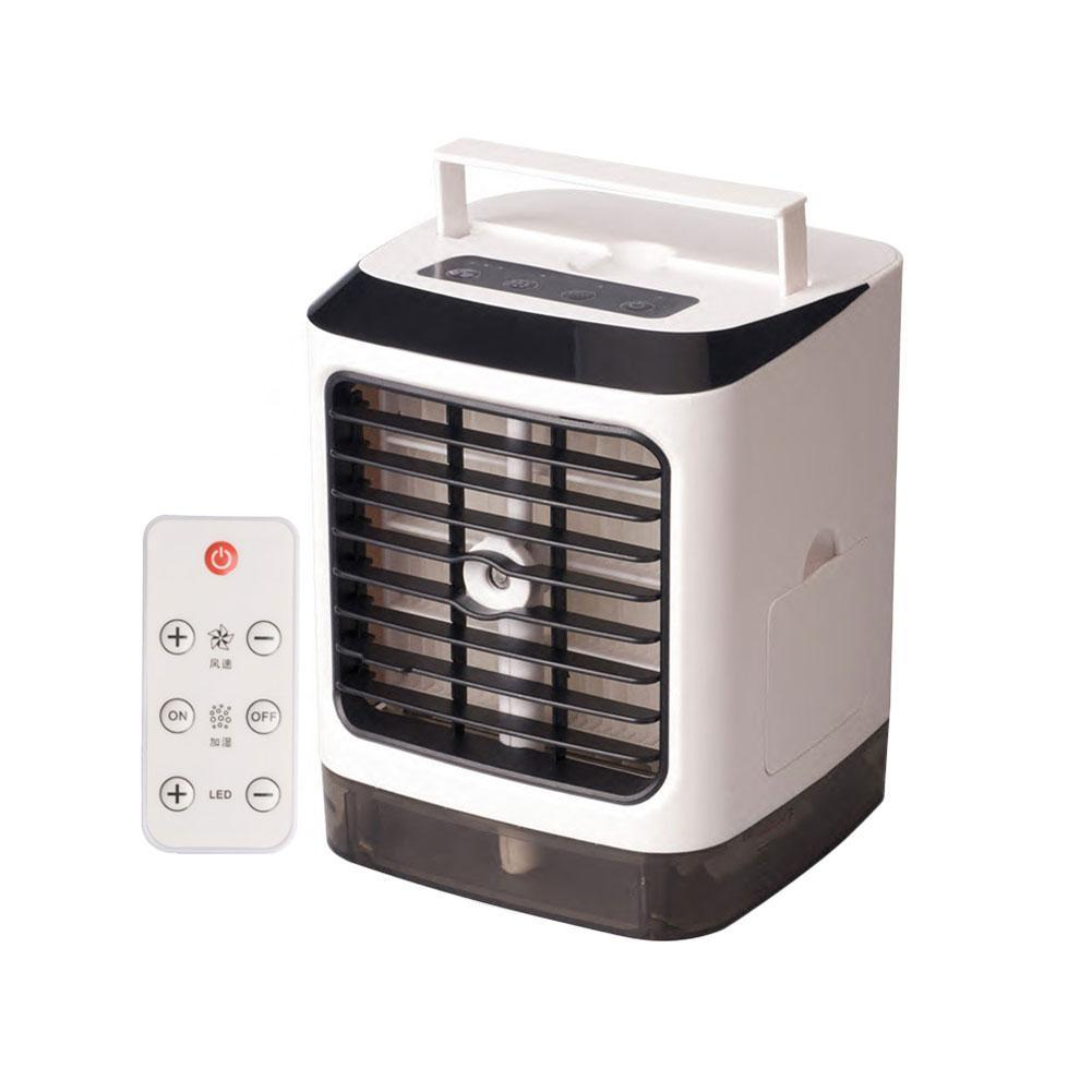 with Remote Control Air Conditioner Fan Air Cooler Three Air Dropship Gear Mini Conditioner Cooling Fan Air Mode K5M4 Frost F2U9