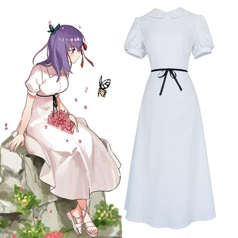 Anime Fate Stay noche Cosplay disfraces Sakura Matou Cosplay disfraces vestidos Halloween carnaval partido mujeres Cosplay disfraz