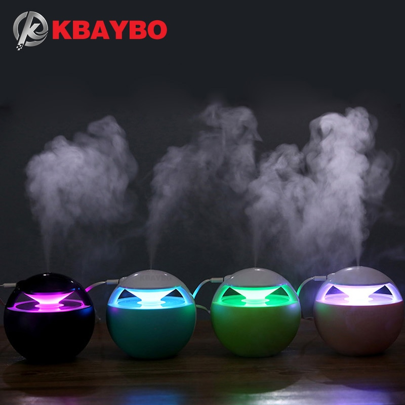KBAYBO 450ML Aroma usb air humidifier Essential Oil Diffuser Car Portable Mini Ultrasonic Cool Mist For Home office