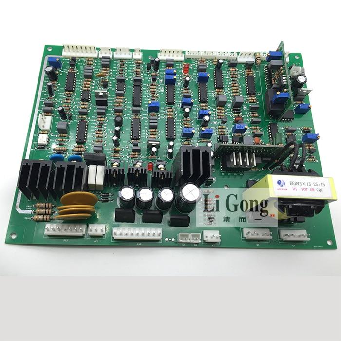 NBC350/500 لوحة تحكم IGBT العاكس الغاز محمية آلة لحام اللوحة الرئيسية ثنائي الغرض لوحة دوائر كهربائية