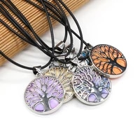 natural shell white blue purple orange shell necklace pendants charms for women jewelry accessory gift size 33x38mm length 55cm