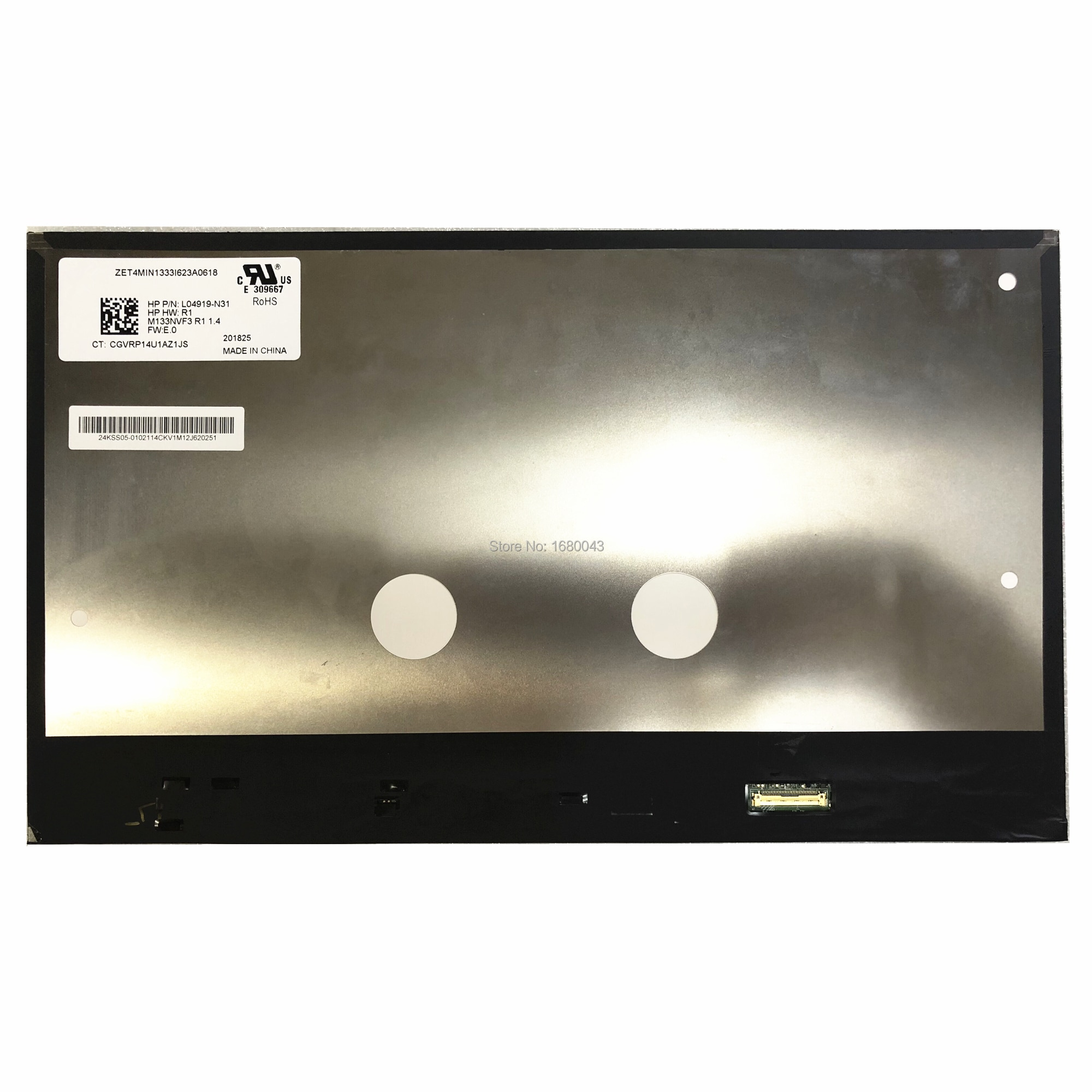 شاشة LCD M133NVF3 R1 للكمبيوتر المحمول HP EliteBook x360 1030 G2 G3 ، لوحة شاشة LCD 1920*1080