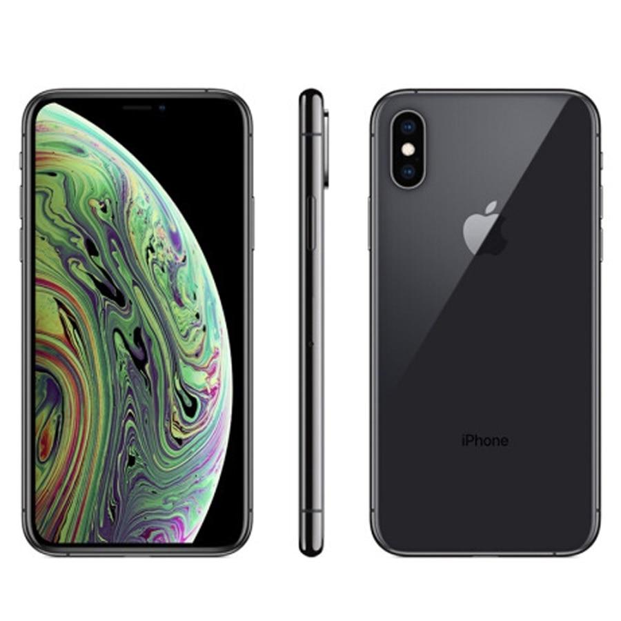 Teléfono inteligente iPhone XS MAX, dispositivo con procesador Bionic A12, 4GB de...