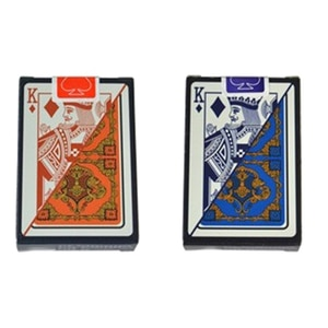 2 Set/Lots Poker Plastic Playing Cards Hot Top Grade Texas Hold'Em Baccarat Frosting Waterproof Large Number