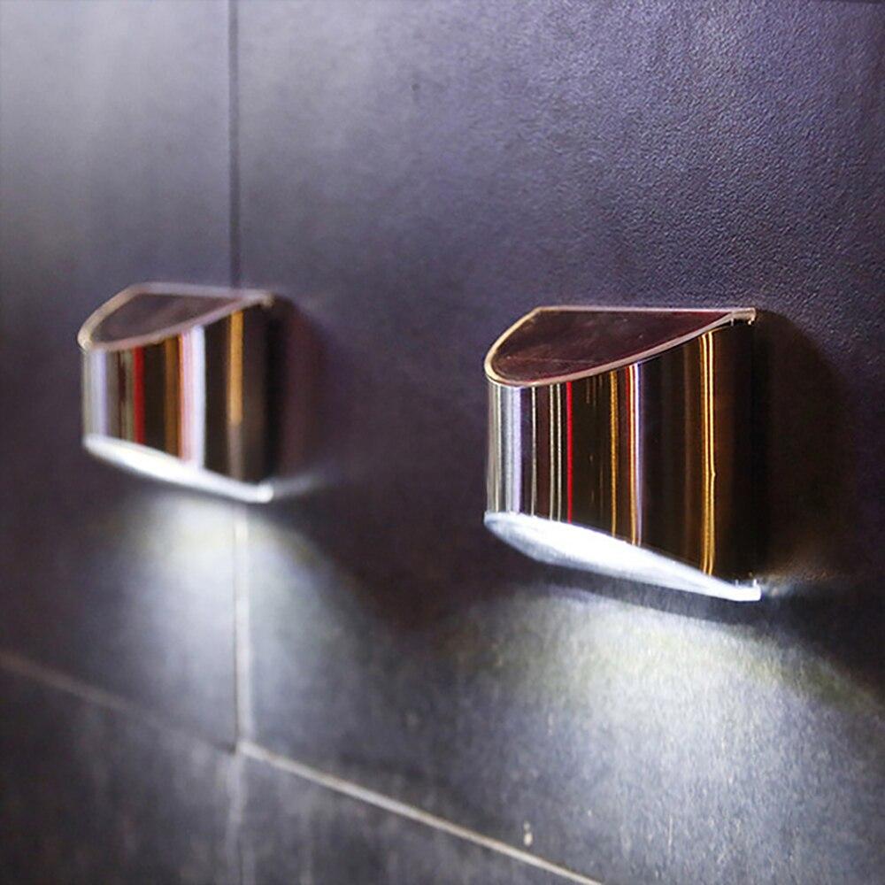 Уличные Водонепроницаемые светодиодные лампы на солнечной батарее, декоративный светильник для лестницы, забора, украшение для внутреннег...