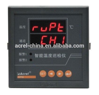 Medidor de temperatura com rs485 superaquecer alarme de baixa temperatura ARTM-1/jc multi-canal temperatura termopar registrador de dados pt100