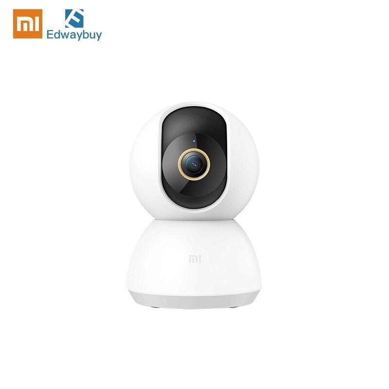 كاميرا شاومي Mijia Mi 2K النسخة العالمية كاميرا أمن الوطن الذكي IP 360 زاوية لاسلكية 2.4G واي فاي HD رصد AI كشف الأشعة تحت الحمراء