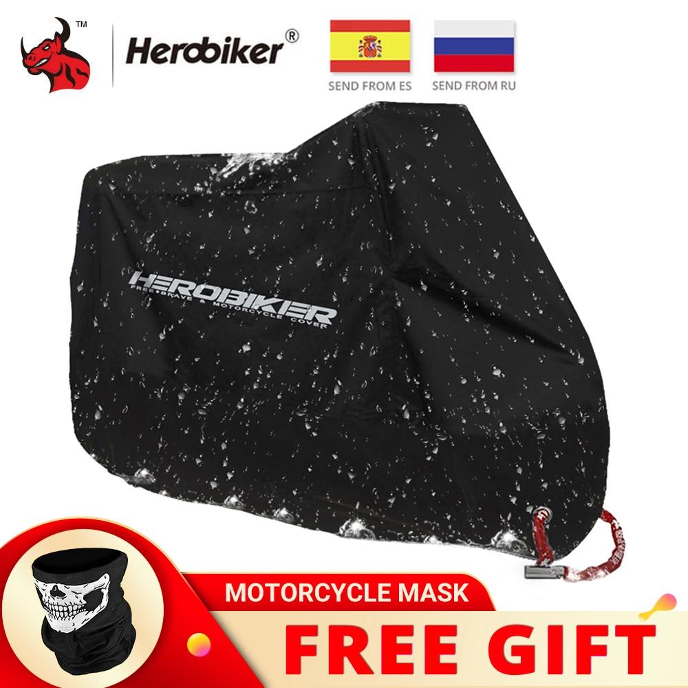 AliExpress - HEROBIKER Motorcycle Cover Bike All Season Waterproof Dustproof UV Protective Outdoor Indoor Moto Scooter Motorbike Rain Cover