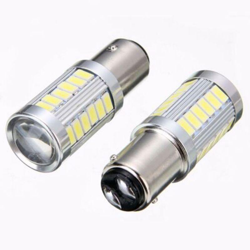 1157 P21 5w BAY15D 5630 5730 LED impermeable faro delantero de coche bombilla de luz de freno Super brillante