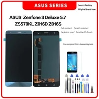 for asus zenfone 3 deluxe zs570kl z016d z016s lcd for asus zenfone 3 deluxe zs570kl display lcd screen touch digitizer assembly