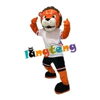 1138 orange tiger mascot costumes character suit animal fancy dress christmas cartoon