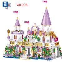Конструктор «Друзья» для принцессы виндзорский замок серии принца для девочек детские развивающие сборные игрушки