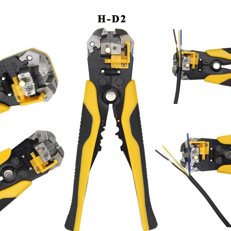 Многофункциональный инструмент 3 в 1, автоматический Регулируемый обжимной инструмент, инструмент для зачистки кабеля, обрезка, пилинговые ...