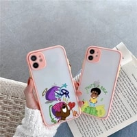 lil uzi vert eternal atake rapper phone case for iphone 12 11 mini pro xr xs max 7 8 plus x matte transparent pink back cover