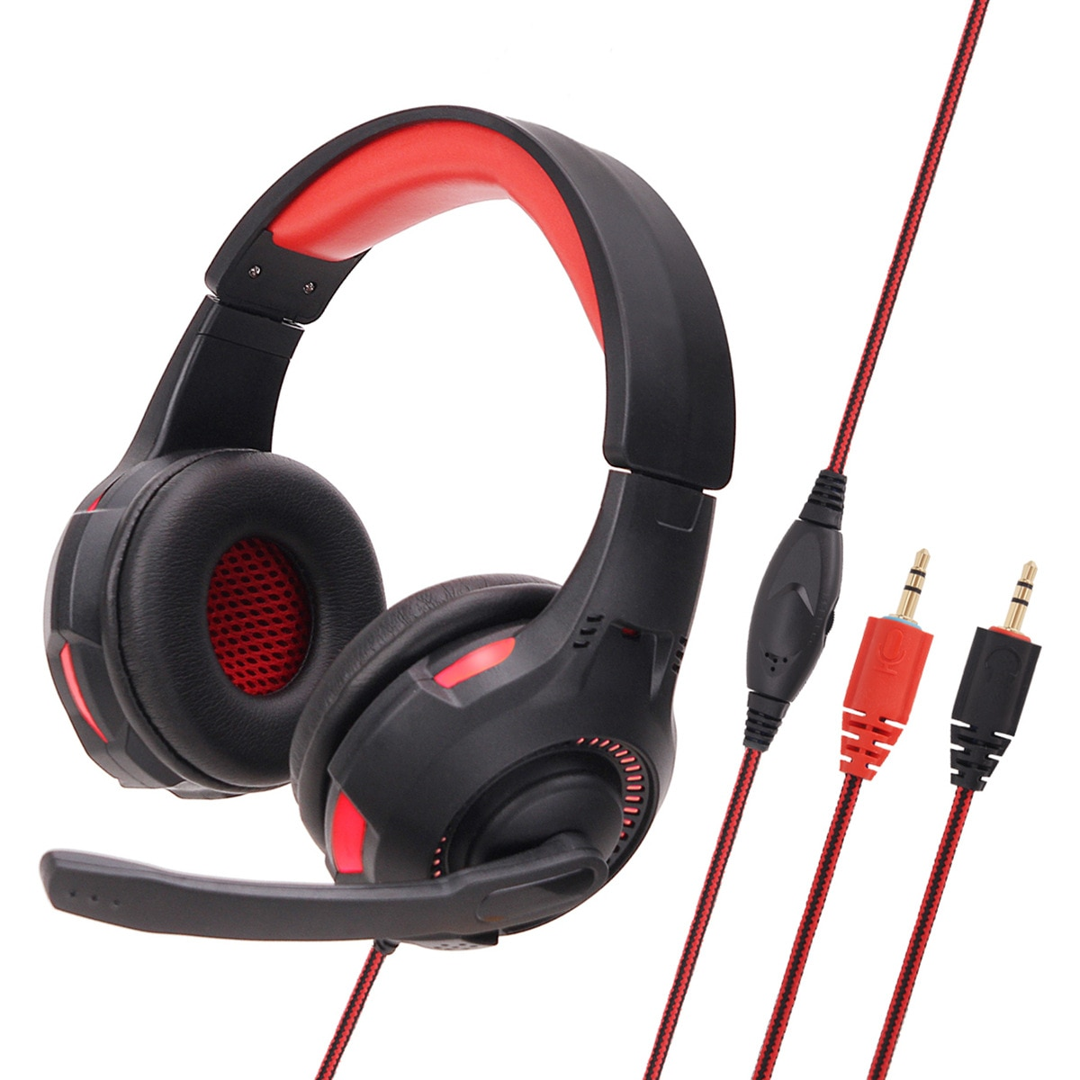 Soyto/luan yutong sy885mv luminoso jogo e-esportes fone de ouvido fone de ouvido internet cafe fone de ouvido
