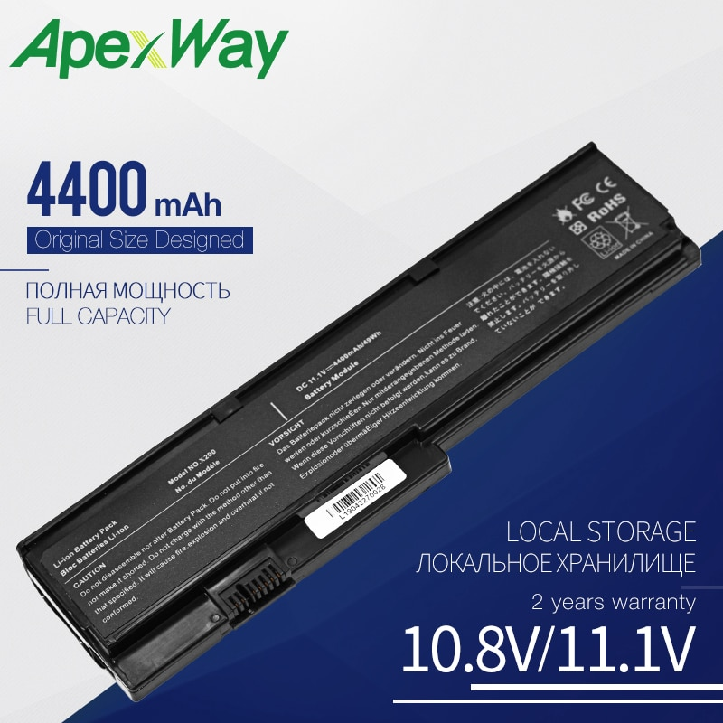 Bateria Do Portátil para ThinkPad Apexway X200 X200S X201 X201I X201S Série 42T4534 42T4535 42T4542 42t4543 PELE 42T4649 42T4647