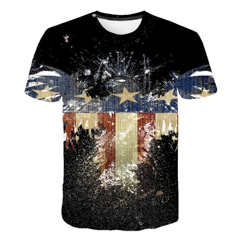 New Design Retro Federal Republic of Germany Flag T-shirt Men/Women Couple Lovers Models Fashion Short sleeve Round neck T-shirt